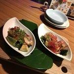 ティキティキ - 選べるディッシュ 2種類 タコとアボカドのポキ・マグロとアボカドのポキ