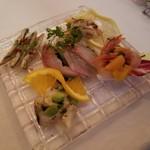 ラ・スコリエーラ - 本日の小皿前菜の盛り合わせ
