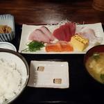 魚や - 刺身定食