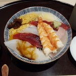 すし天ぷら あき - ちらし寿司