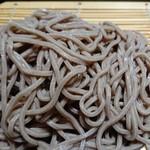 水戸庵 - 主役の蕎麦w