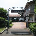 港屋 千兵衛 - 駐車場側からの入口