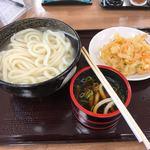 こがね製麺所 - 料理写真:湯だめ