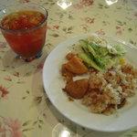 キャナリィ・ロウ - 2回目の前菜とアイスティ