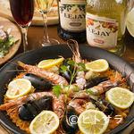 グリルアンドシーテーブル アキト - 新鮮な魚介を使用した『海鮮パエリア』