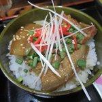 べにはま - 三枚肉丼ハーフ2018.06.14