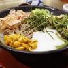 そじ坊 - 料理写真:冷し山菜とろろそば