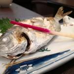 旬魚菜 しら川 - エボダイ塩焼き