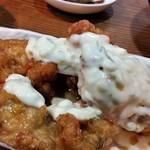 うどん屋 米ちゃん - チキン南蛮、アップ。美味しいですよ~。