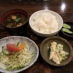 湾 - ご飯セット720円