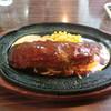 ブルドックキッチン - 料理写真:ジャンボハンバーグ定食