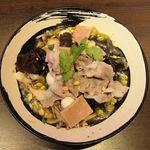 本格火鍋専門店 蜀一冒菜 - 白湯スープ