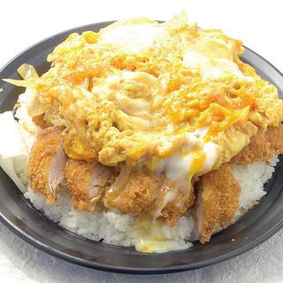 杏亭 - キングカツ丼1000円