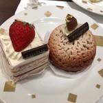ダロワイヨ - ケーキブッフェで食べたケーキ達。