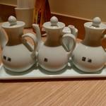 天津飯店 - 卓上の様子