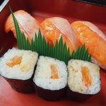 8767202 - 寿 セットのチップ寿司