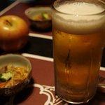 Mitsuoki - ビールとお通し