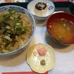 伊勢屋 砂おろし - づけ丼(700円)