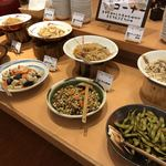 自然食ブッフェ姫蛍 - 和惣菜も楽しめます