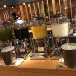 自然食ブッフェ姫蛍 - 充実のドリンクコーナー