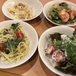 自然食ブッフェ姫蛍 - 各種サラダで野菜も補給~