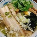 麺屋ひょっとこ - 2018年6月 和風柚子焼豚麺+若布 930+110円