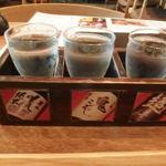 札幌銀鱗 - 利き酒しました