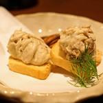 BAR Too - 無花果の入ったクリームチーズ