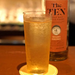 BAR Too - The Ten Single Malt Medium Sherry のダブルのハイボール