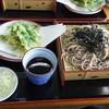 千両 - 料理写真:ざるそば&明日葉の天婦羅