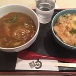 英多朗 - カレー丼とハイカラうどん