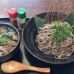 篠山皿そば 弐拾六 - 牛すじのつけ蕎麦¥900