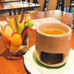 美食の杜ANOU - バーニャカウダー