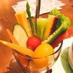 美食の杜ANOU - 珍しい野菜も