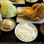 鶏の三平 - 唐揚げ定食