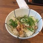 麺や 美風 - 焼き鳥丼