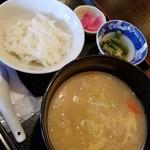 87680354 - 豚汁定食 350円