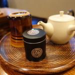 一保堂茶舗 喫茶室 嘉木 - ☆玄米茶の出番です☆