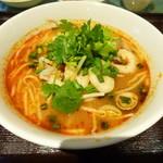 87680963 - トムヤムクンラーメン(米麺)