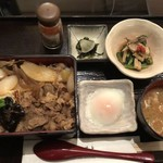 米沢牛黄木 - 米沢牛すき焼き重御膳