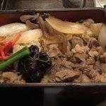 米沢牛黄木 - 米沢牛すき焼き重