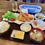 87683873 - ミックスフライ定食(¥1,180)