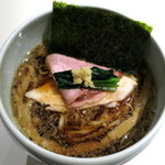 Japanese Ramen Noodle Lab Q - 生姜煮干し醤油Soba_830円
