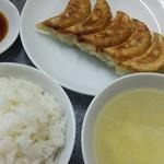 Kiraku - シンプルな餃子ライス