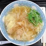 牡丹園 - フカヒレ入海老ワンタン麺_1,296円