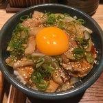 中華蕎麦 とみ田 - 「極上焼豚ごはん」600円