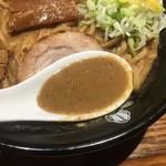 中華蕎麦 とみ田 - 中華そばのスープ