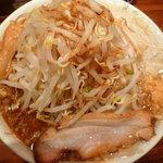 ラーメンとスタミナ丼 直成 - 大盛りラーメン(野菜増し)