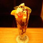 りんご亭 - チョコレートパフェ