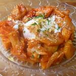 ビストロ イヴローニュ - 夏野菜と温泉卵のラタトゥーユ